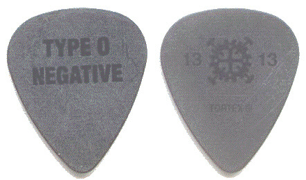 backstage store catalog type o negative guitar pick. Black Bedroom Furniture Sets. Home Design Ideas